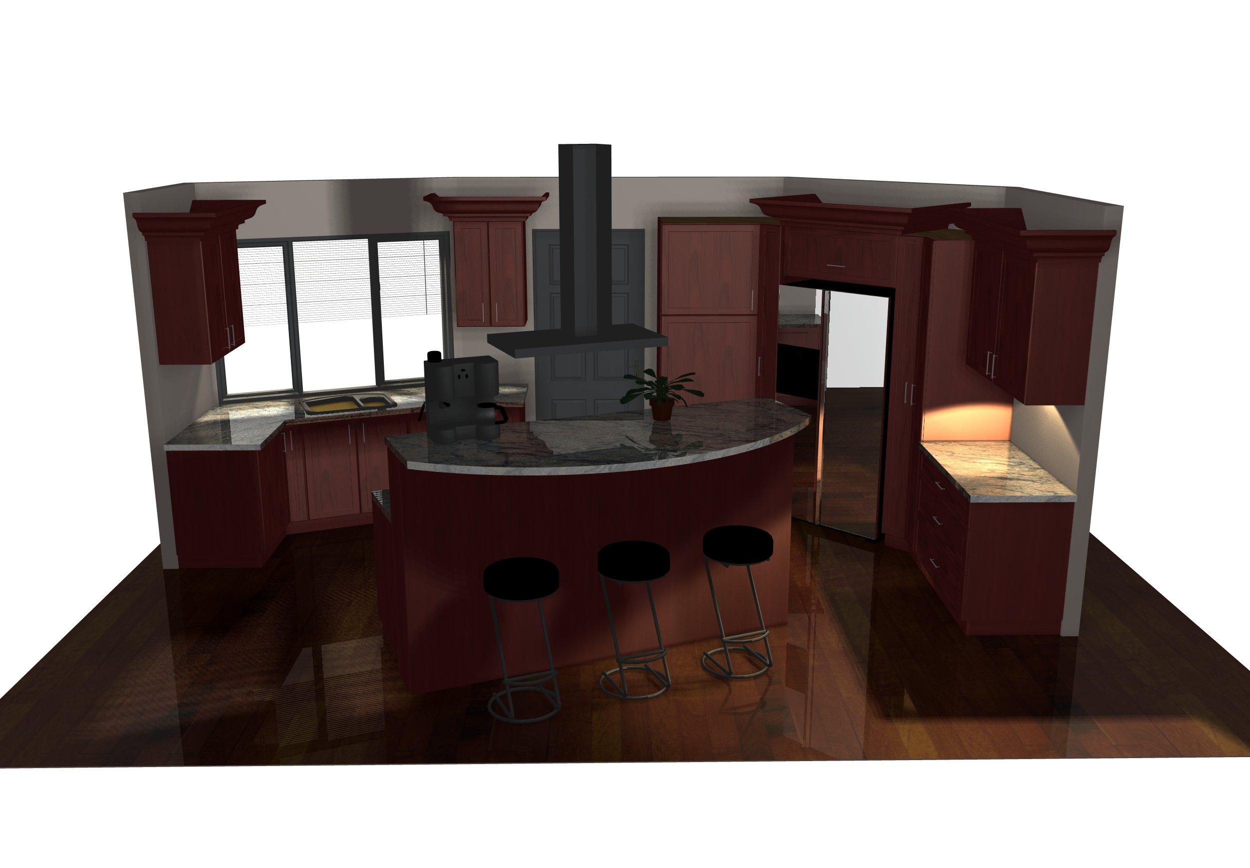 Logiciel Pour Conception Cuisine cabinet vision- logiciel de conception: galerie de rendus 3d